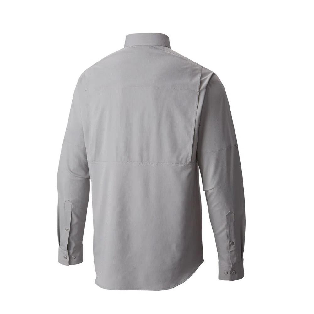 Camisa Silver Ridge Lite Long Sleeve Sh Columbia Grey