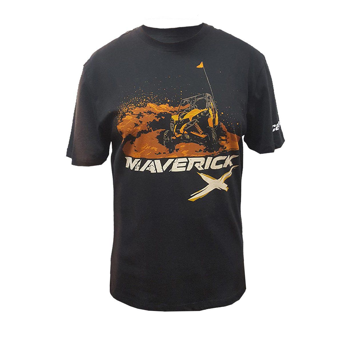 Camiseta Can-Am Masculina Maverick Preta