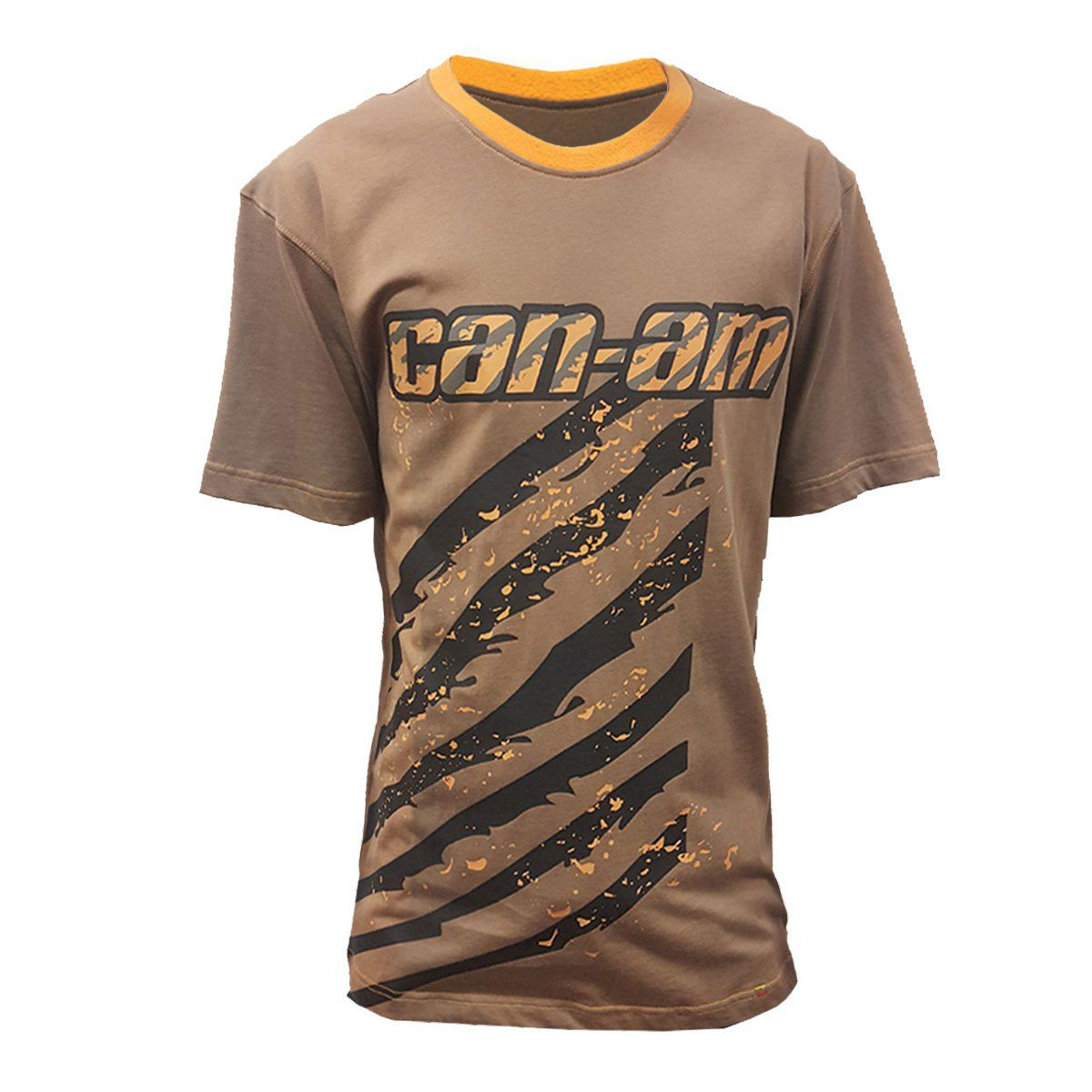Camiseta Can-Am Masculina Trilha Marrom