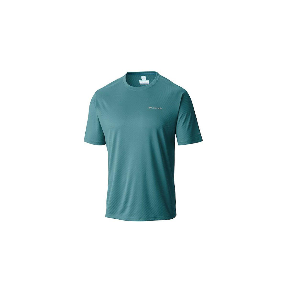 Camiseta Columbia Zero Rules Short Sleeve Shirt Teal