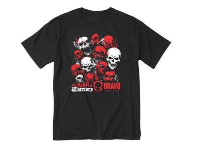 Camiseta Estampada Spirit Of Warriors Bravo