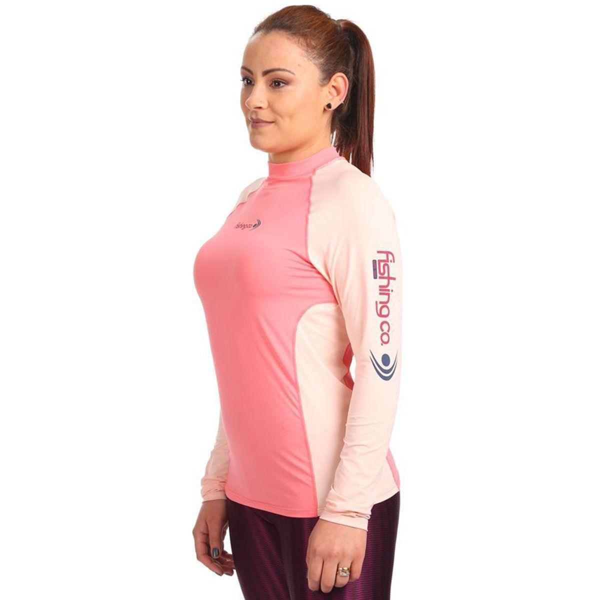 Camiseta Fishing Co Feminina com Recorte Electric e Tule