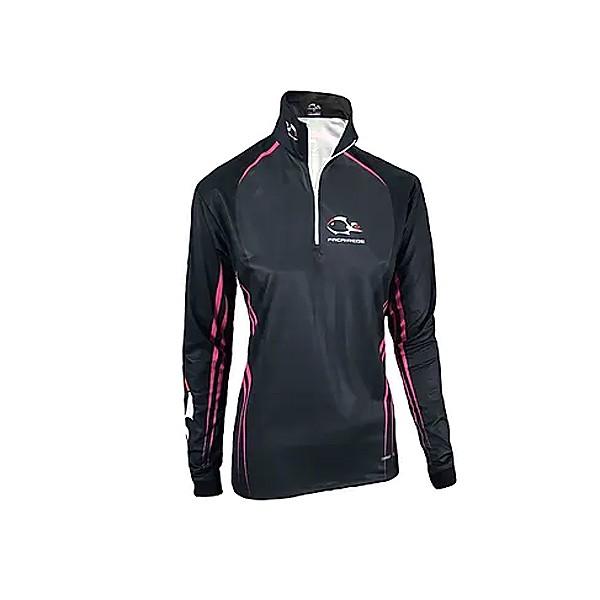 Camiseta UV Feminina Faca na Rede Combat S 20 Girl Pink and Black