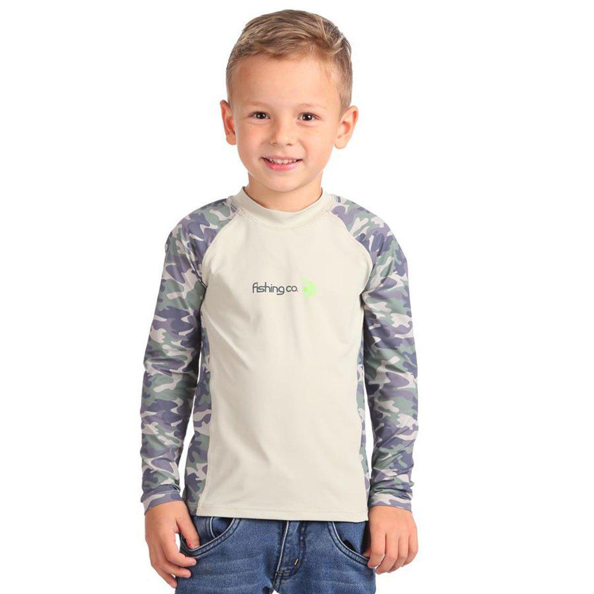 Camiseta Infantil Estampada Atacama/Camuflado