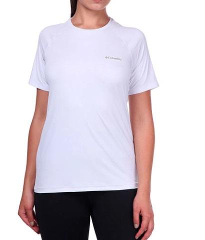 Camiseta M/C Feminina Aurora Branco