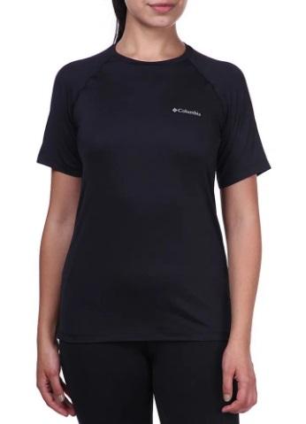Camiseta M/C Feminina Aurora Preto