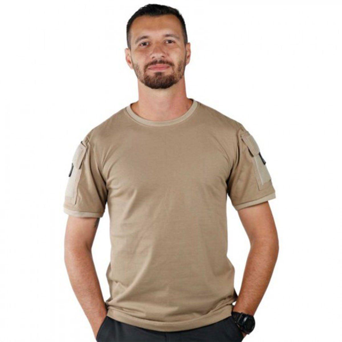 Camiseta Masculina Belica Ranger 13-Caqui