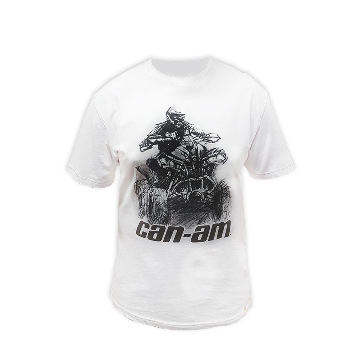 Camiseta Masculina Renegade Branca
