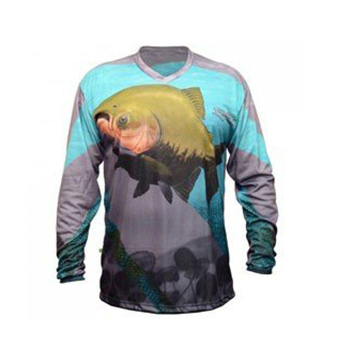 Camiseta Mtk Atack Tambaqui C/ UV 35