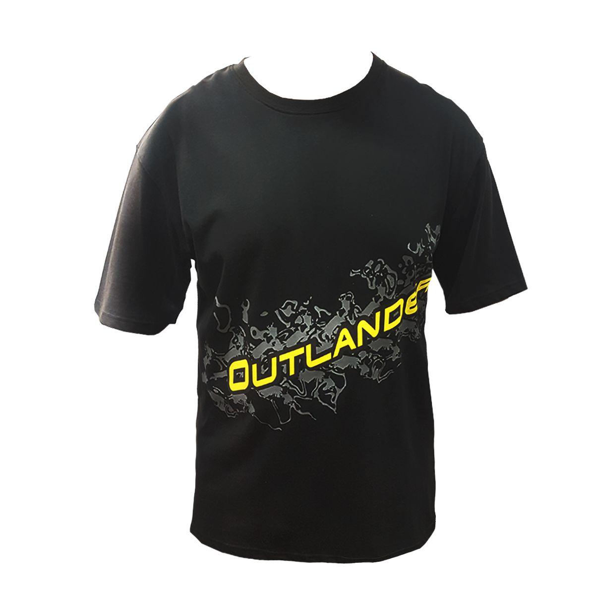 Camiseta Outlander Masculino Preto