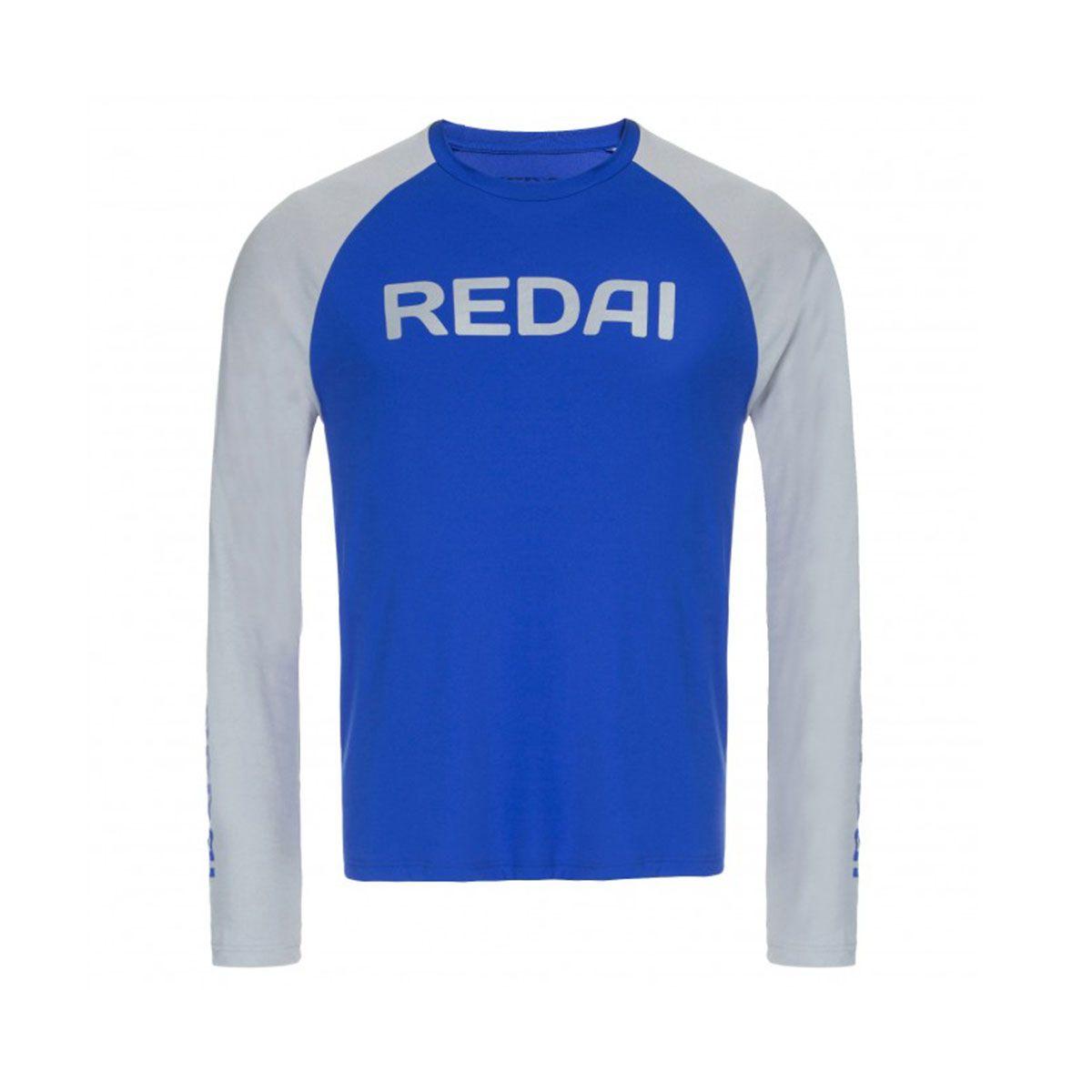 Camiseta Redai Performance Masculina Raglan Oceano