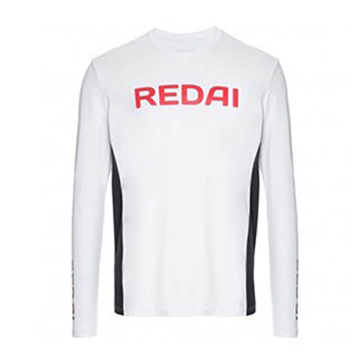 Camiseta Redai Performance Masculina Team Branco