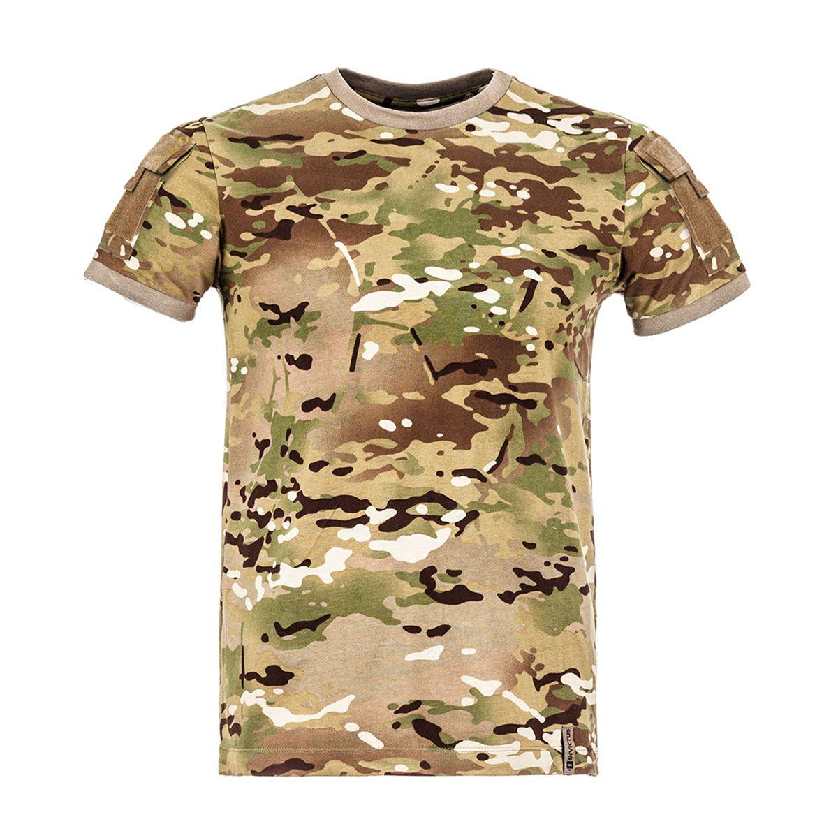 Camiseta T-Shirt Invictus Army Cam Multicam