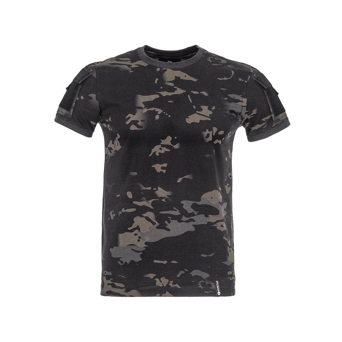 Camiseta T-Shirt Invictus Army Cam Multicam Black