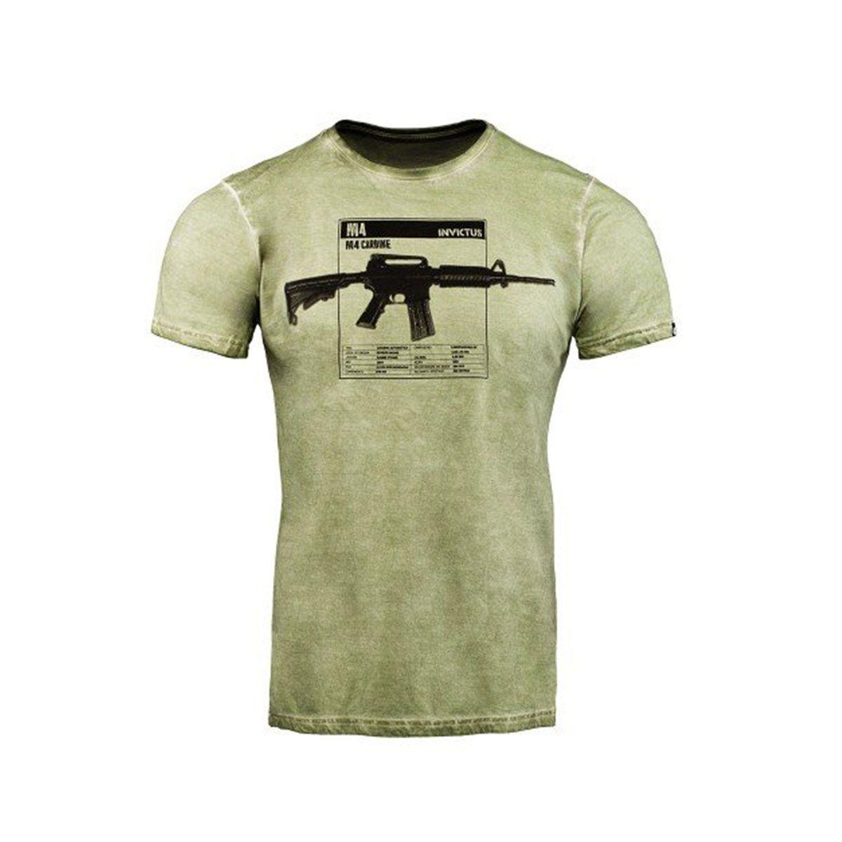 Camiseta T-Shirt Invictus Concept Carbine