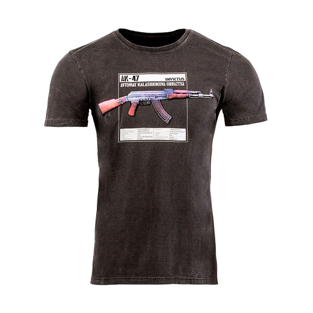 Camiseta T-Shirt Invictus Concept Kalash