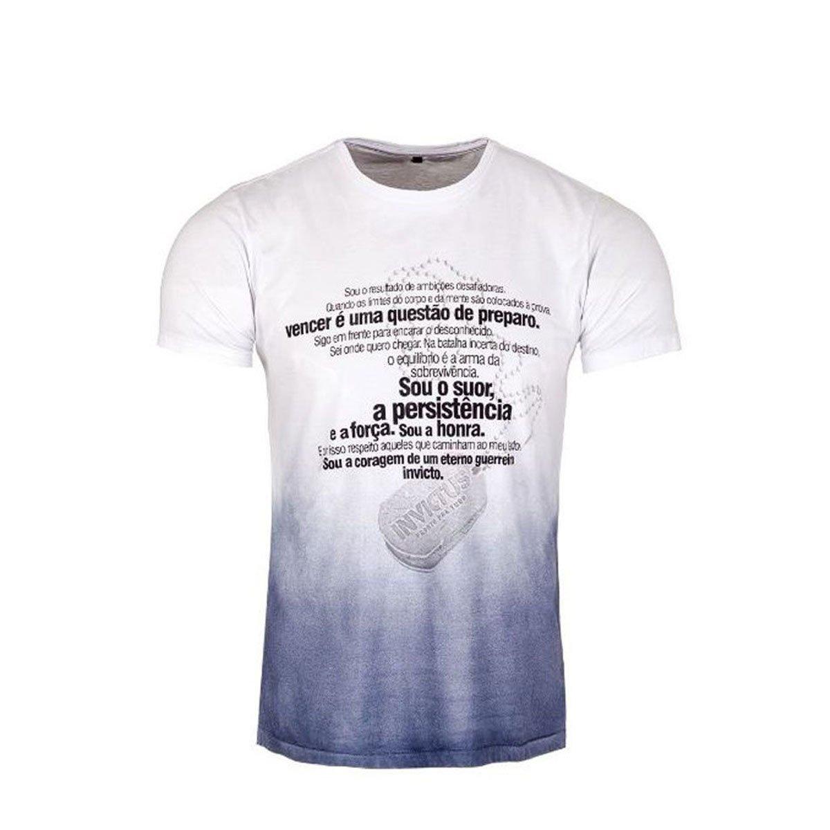 Camiseta T-Shirt Invictus Concept Manifesto