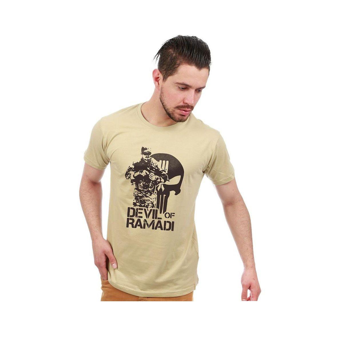 Camiseta Team Six Devil Of Ramadi Zombie