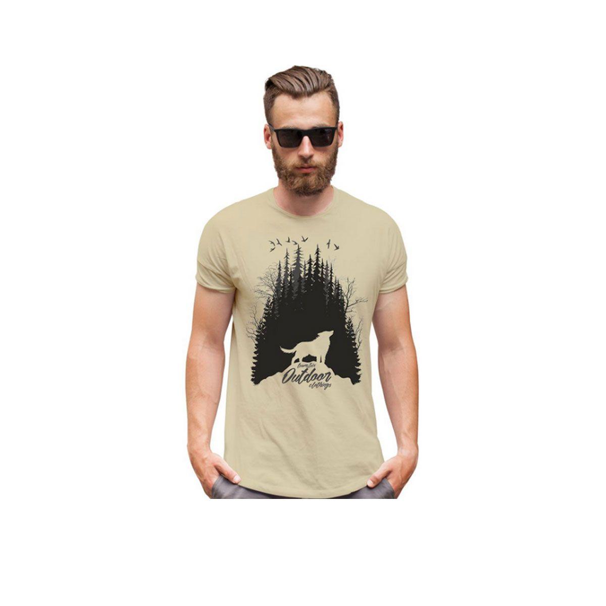 Camiseta Team Six Outdoor Wolf Team Six Zombie