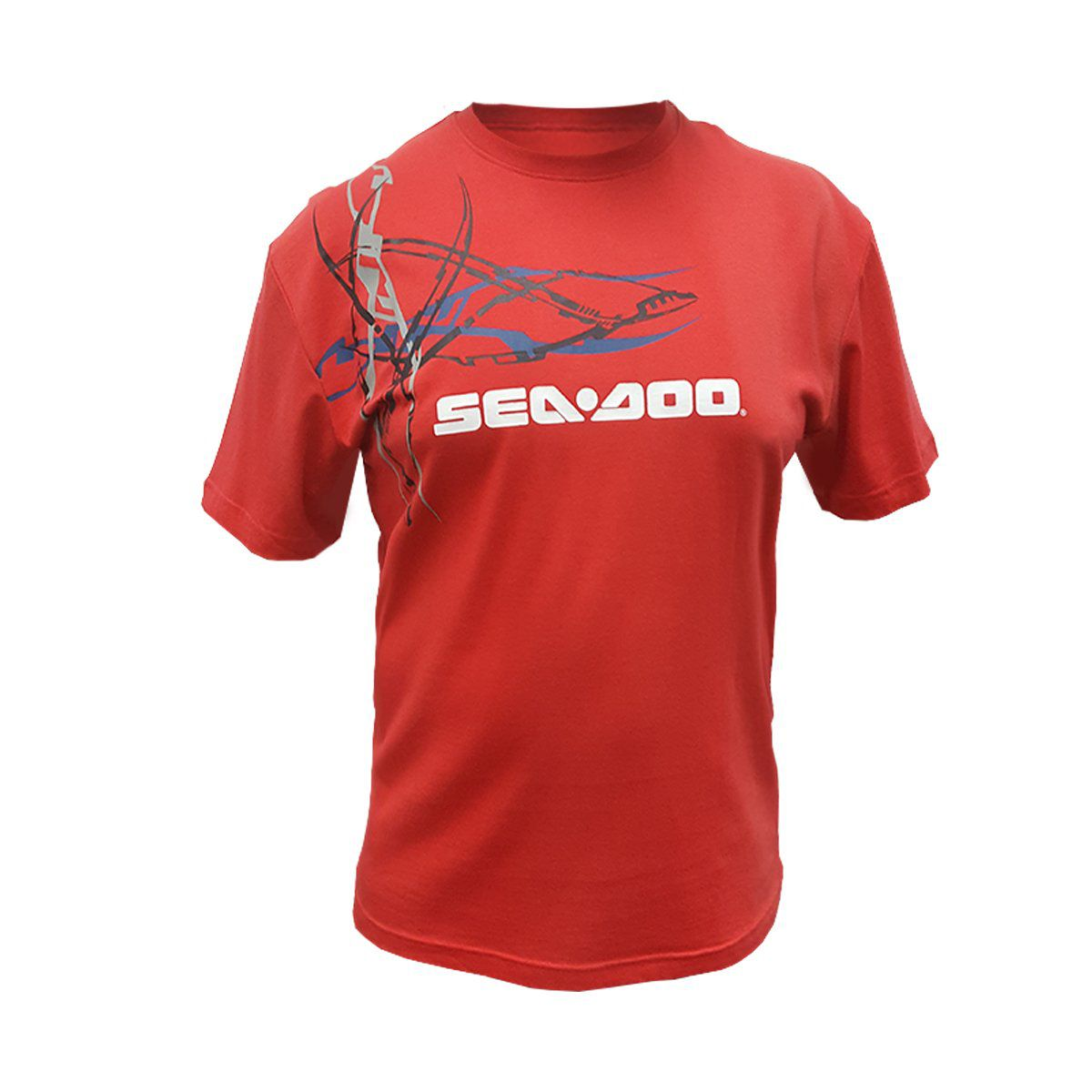 Camiseta Tee Sea-Doo Masculina Vermelha