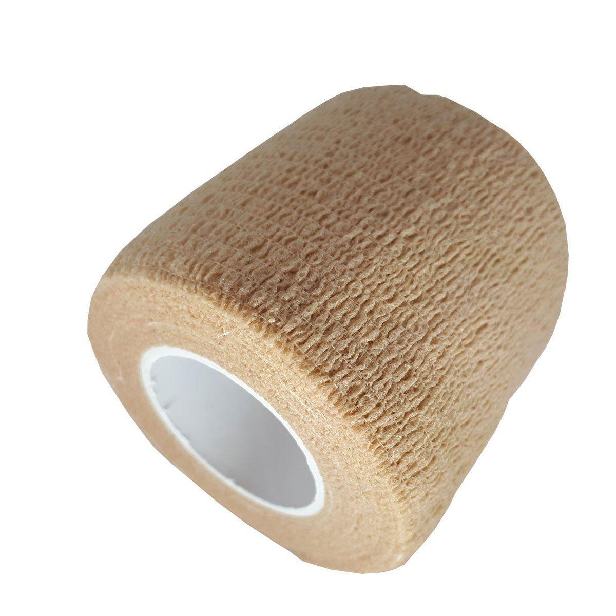 Fita para Camuflagem Albatroz Camo Tape FT-BEIGE 5 Mts Bege