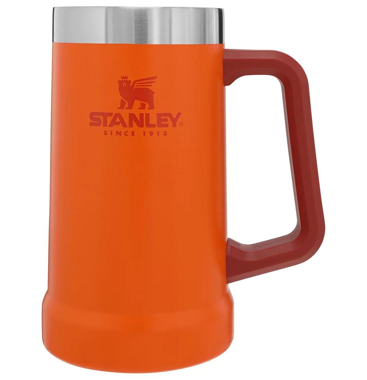 Caneca de Cerveja Térmica Stanley Orange Laranja  710ml