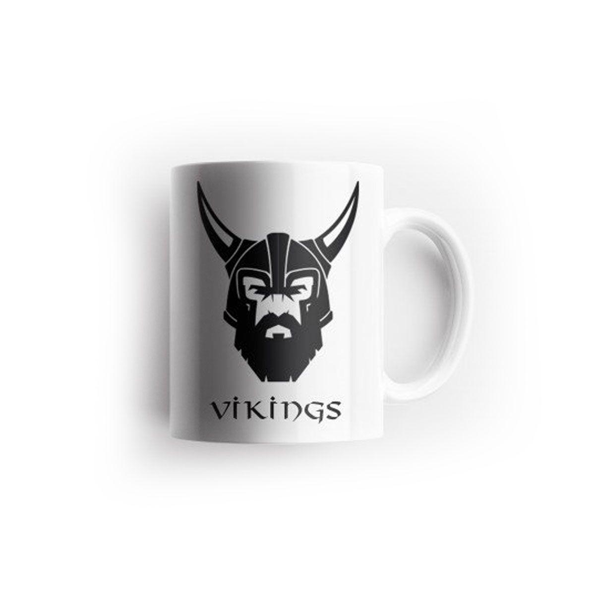 Caneca Kipfer Vikings 325 ML