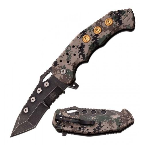 Canivete Master USA Master Cutlery C/ Abertura Assistida - MU-A034DG
