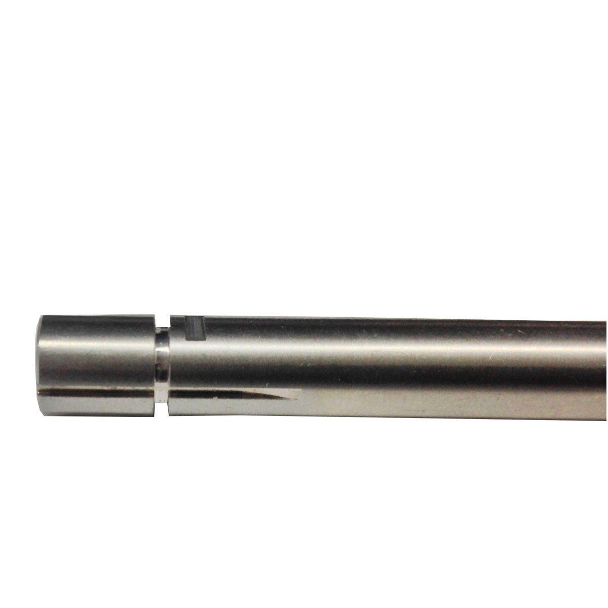 Cano de Precisão em Aço Inox para Pistola 106mm 6.02mm