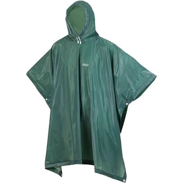 Capa de Chuva Adulto Coleman Poncho EVA 15mm - Verde