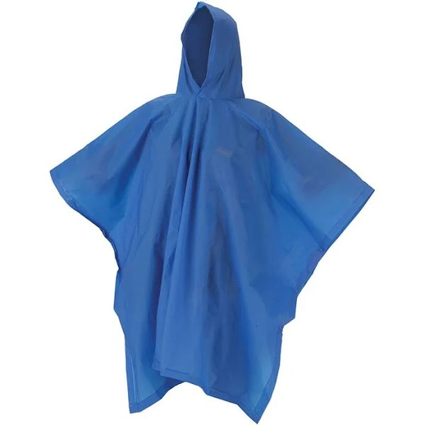 Capa de Chuva Juvenil Coleman Poncho EVA 15mm - Azul