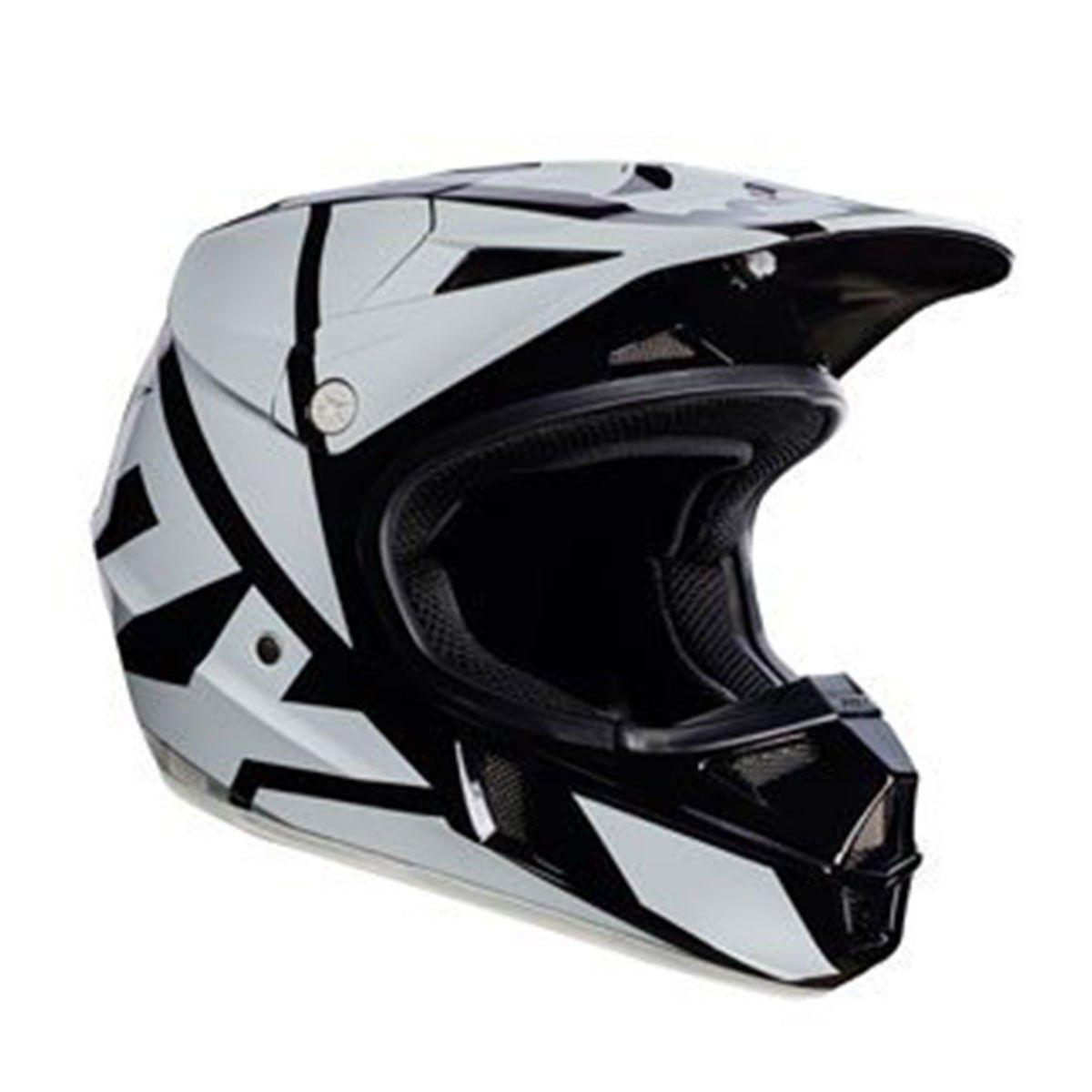 Capacete de Motocross Fox V1 Race Black