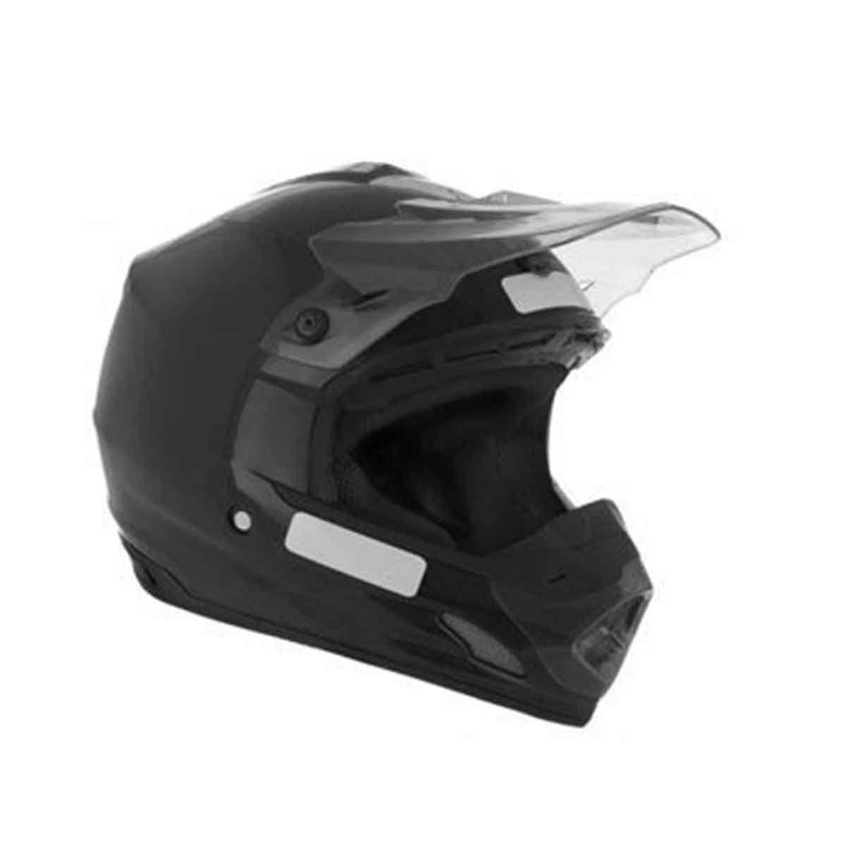 Capacete de Motocross Protork Cross TH1 Solid (Pala Fume)