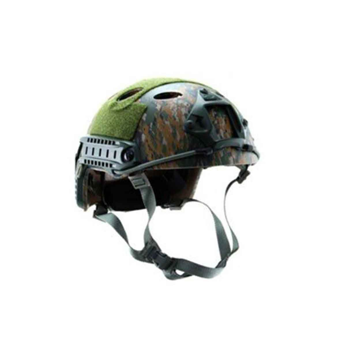 Capacete Tático Recreativo Emerson Gear Modelo Fast b Wodland Digital / Marpat