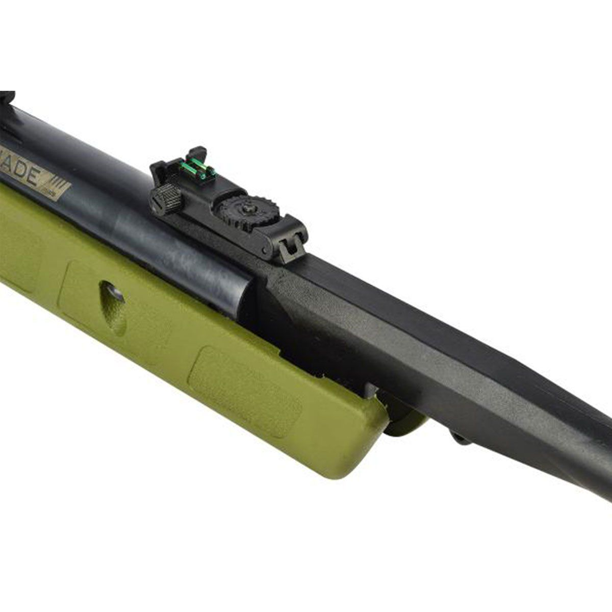 Carabina de Pressão CBC Jade Mais OX PP Verde 5,5mm