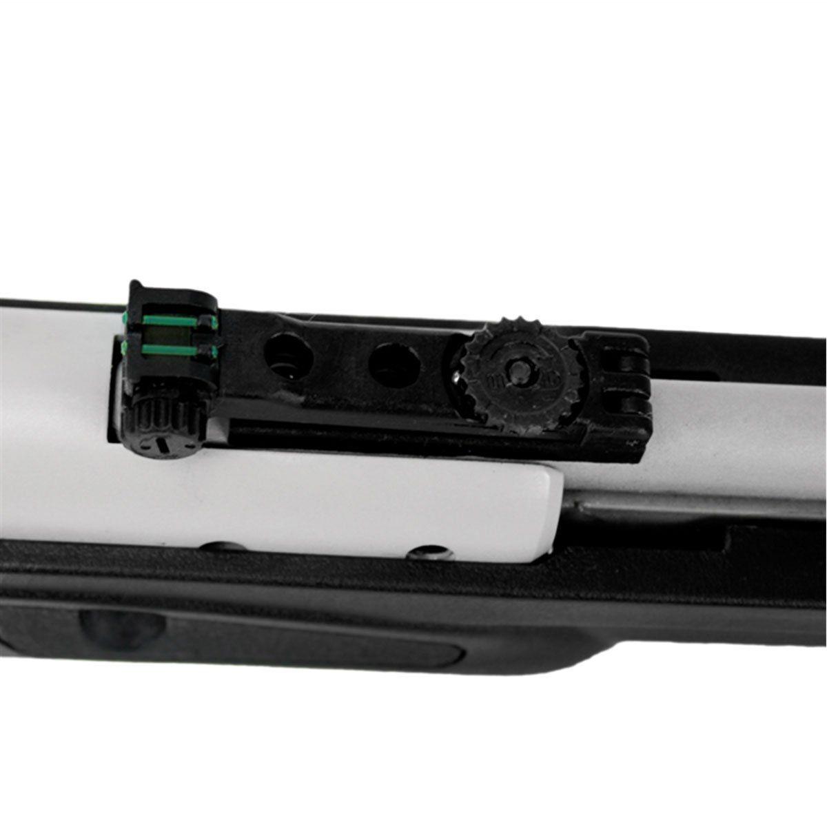 Carabina de Pressão CBC Nitro Six Cromo Gás Ram 6,0mm