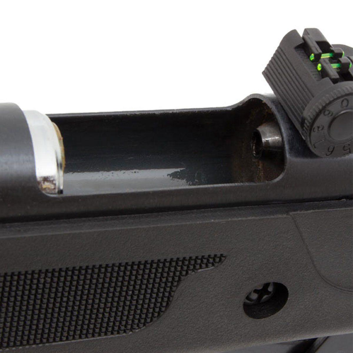 Carabina de Pressão Fixxar Black Cano de Metal Spring 5,5mm