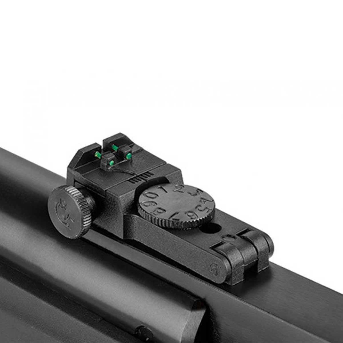 Carabina de Pressão Rossi Hatsan HT 80  5,5mm+Capa+Pistão+Óculos+Chave Allen