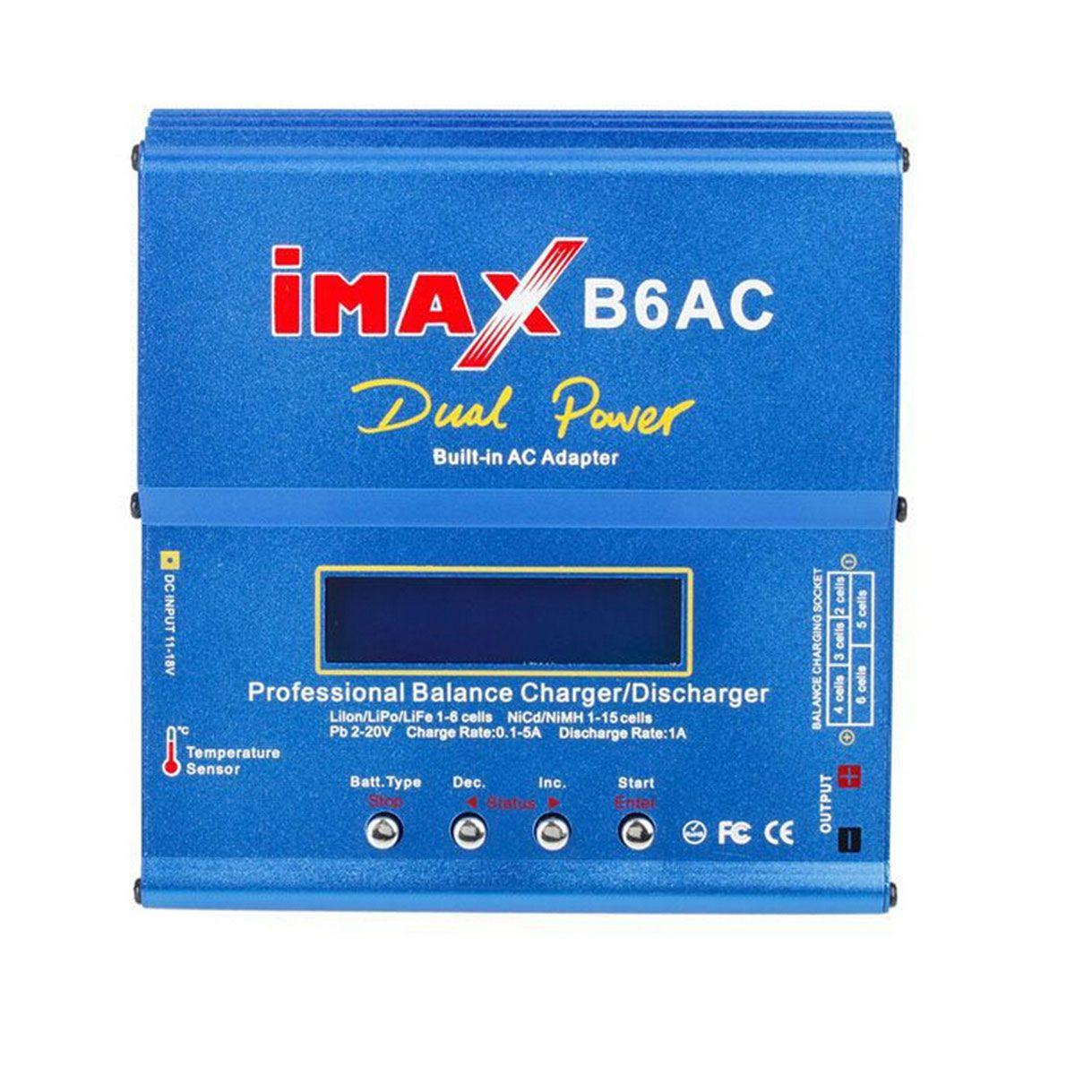 Carregador Balanceador para Baterias Imax B6AC 80w 12V