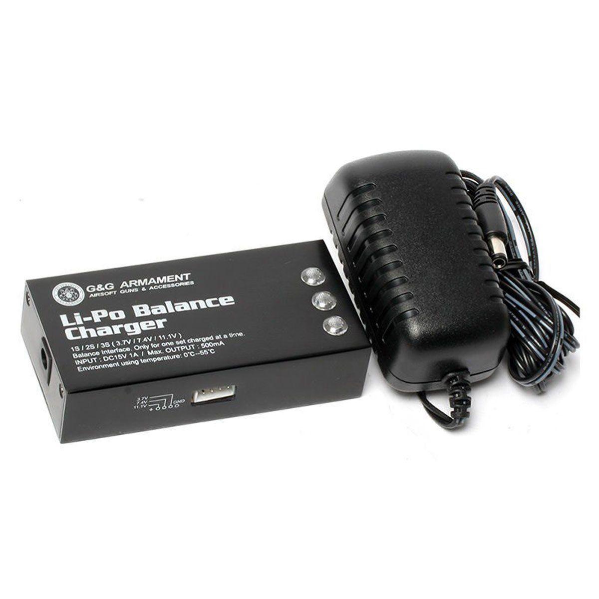 Carregador Balanceador para Baterias Li-Po G&G
