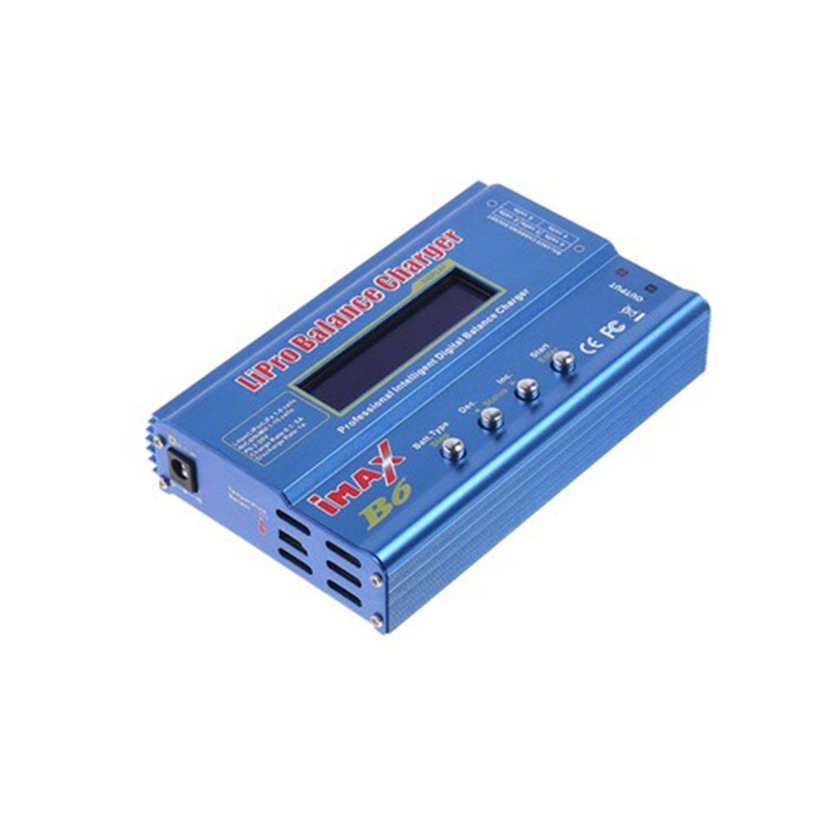 Carregador e Balanceador de Baterias Imax B6 80w 12V