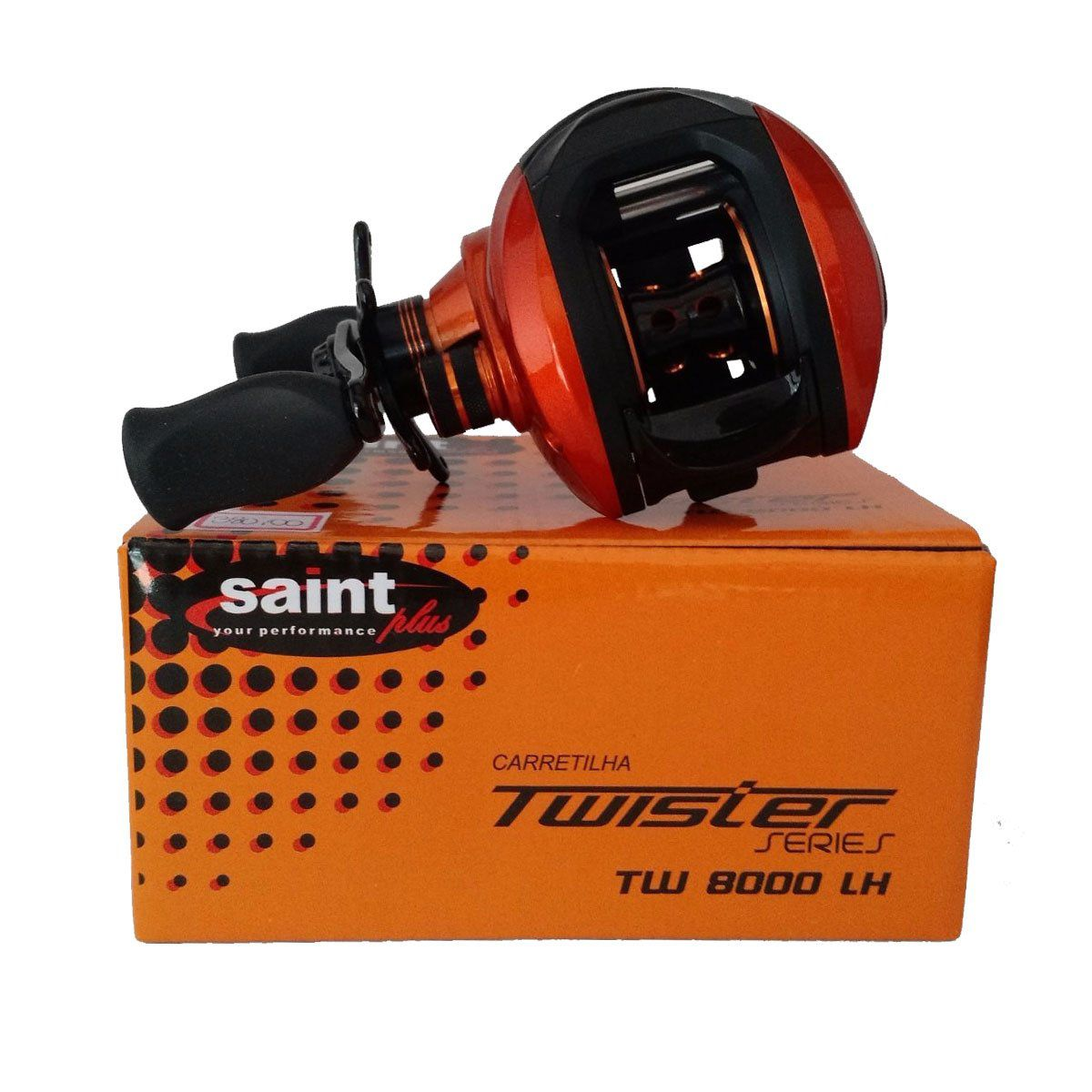 Carretilha Saint Plus Twister 8000 Dir 7,2:1 8 Rolamentos