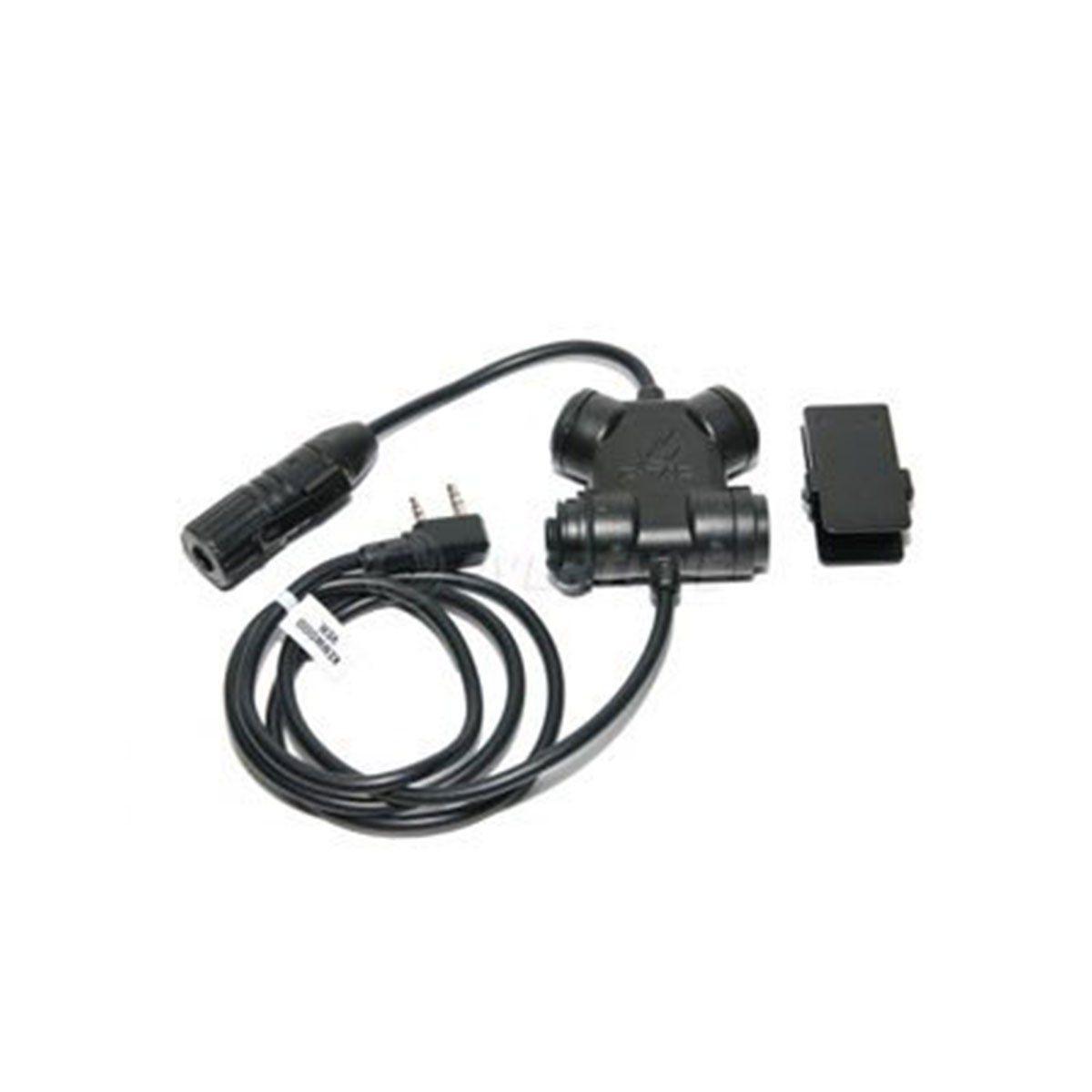 Chave Interruptor Para Microfone/radio Comunicador Baofeng Z130ken Zsil Ynx Clarus Ptt