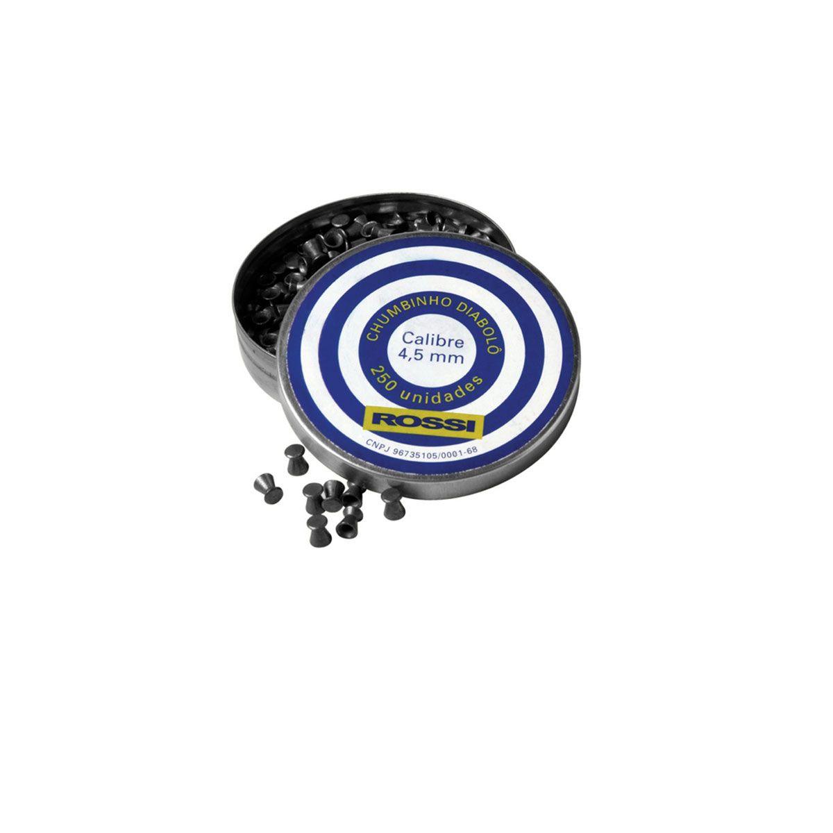 Chumbinho Rossi Diabolo 4,5mm (250 UM)