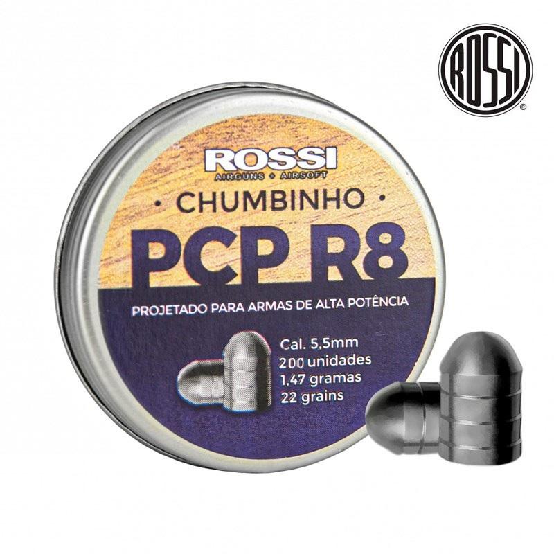 Chumbinho Rossi PCB R8 5,5mm - 200 Unidades