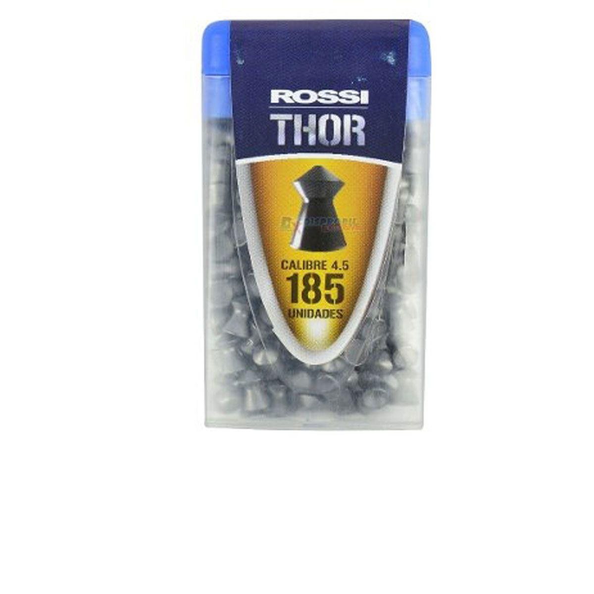 Chumbinho Rossi Thor 4,5mm 185 unidades
