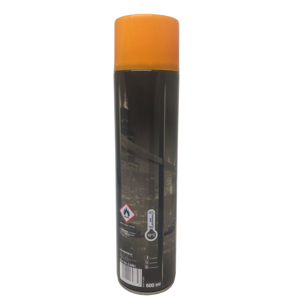 Cilindro Airsoft Green Gás Elite Force 600ml
