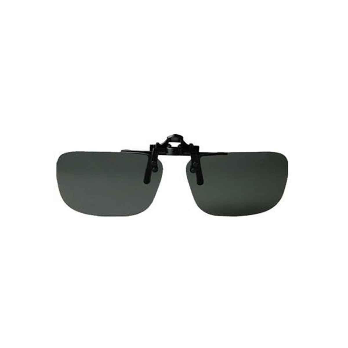 Clip Rapala Preto p/ Afixar no Óculos - Lentes Polarizadas