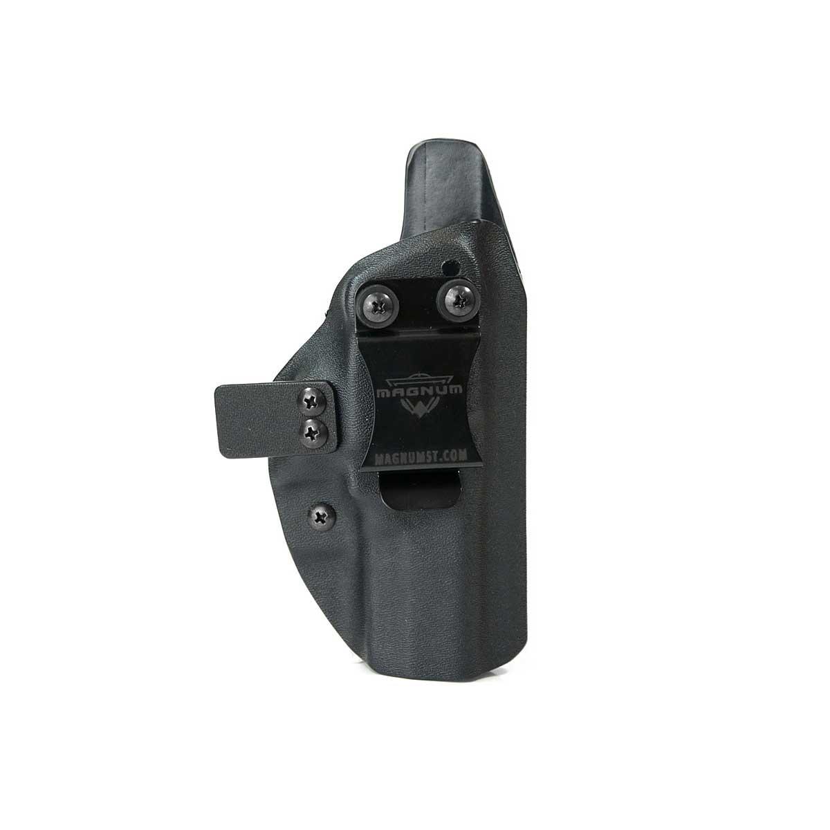 Coldre Slim Magnum Pist Glock G17/G22 Carbon Black - Destro