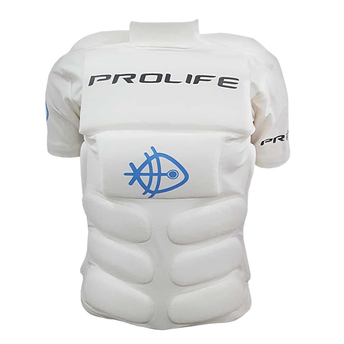 Colete Blusa Flutuação Prolife Branca